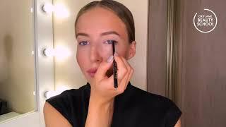 Акцент на глаза макияж на каждый день с Галиной Ильиной