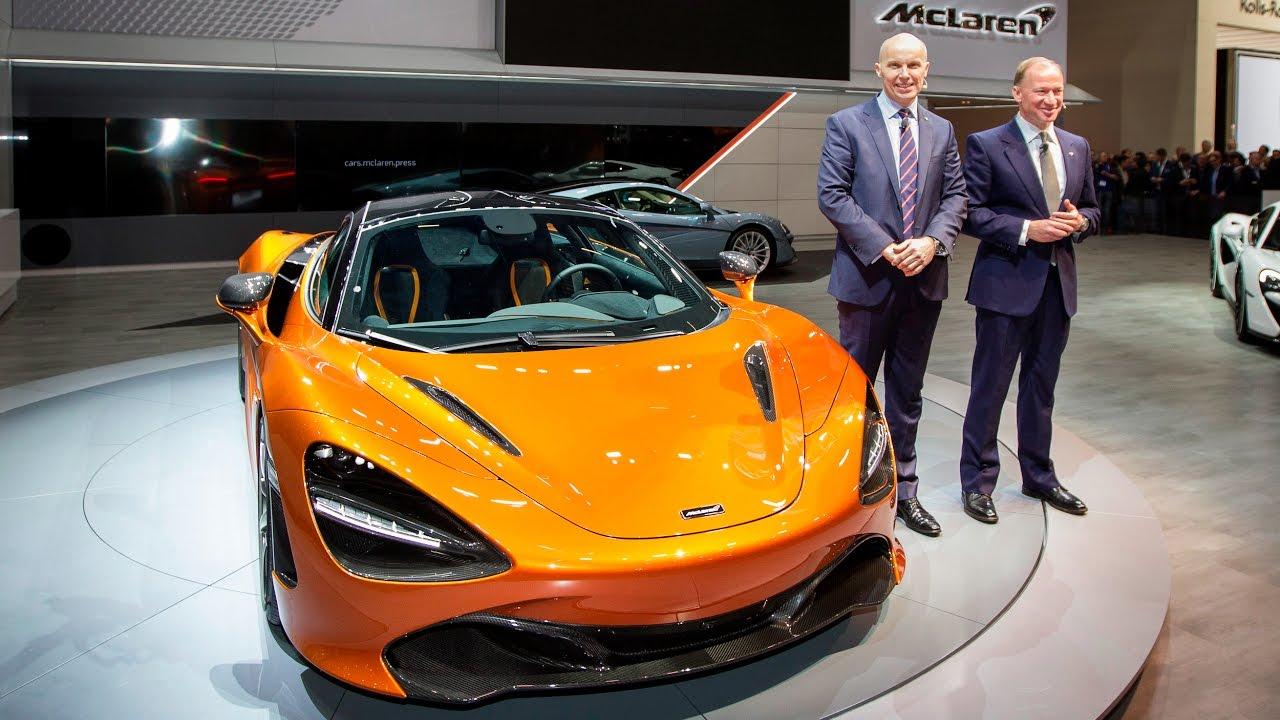 mclaren automotive - geneva 2017 highlights - youtube