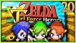 Zelda: Triforce Heroes - Über den Wolken!   Part 20 mit Wolo & Ricky
