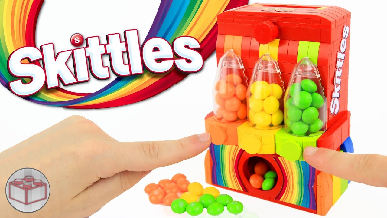 af06984098b The Ultimate LEGO Skittles Machine (3 OPTIONS) - YouTube
