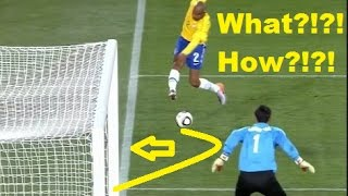 Insane Goals from Impossible Angles - Amazing Goals you won't Believe!