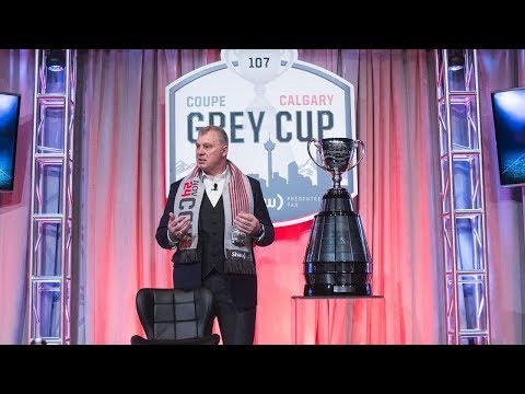 CFL Commissioner Ambrosie Holds Annual Grey Cup News Conference