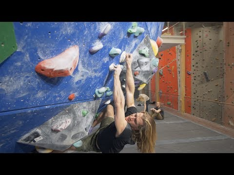 Climbing On Granit Holds In A Gym - Thor - Peter - Shenanigans