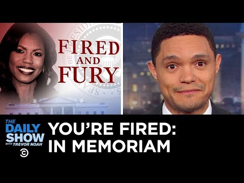 You're Fired: In Memoriam Vol. 2 | The Daily Show