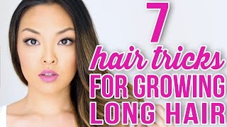 7 Tricks To Grow Your Hair Longer and Faster!