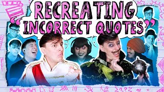 Recreating Sanders Sides INCORRECT QUOTES! - We Take Requests | Thomas Sanders & Friends