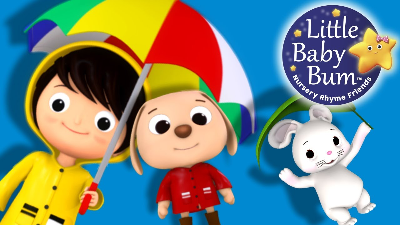 I Hear Thunder Nursery Rhymes By Littlebabybum Youtube