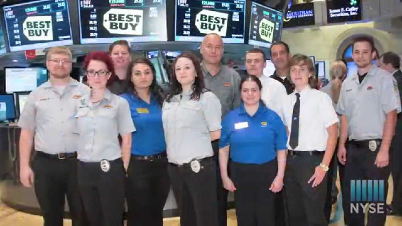 Best Buy's Geek Squad Celebrates Milestone 20th Birthday at NYSE ...