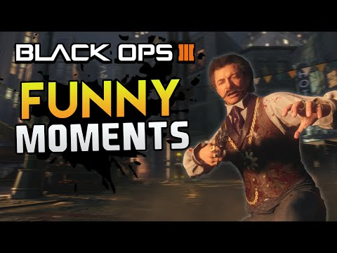 Black Ops 3 Zombies Funny Moments - Zombie Tryouts, Angel Arms, Revive Phrases (BO3 Funny