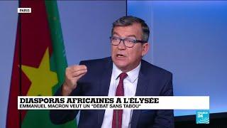 macron reoit les diasporas africaines llyse pour un dbat sans tabou