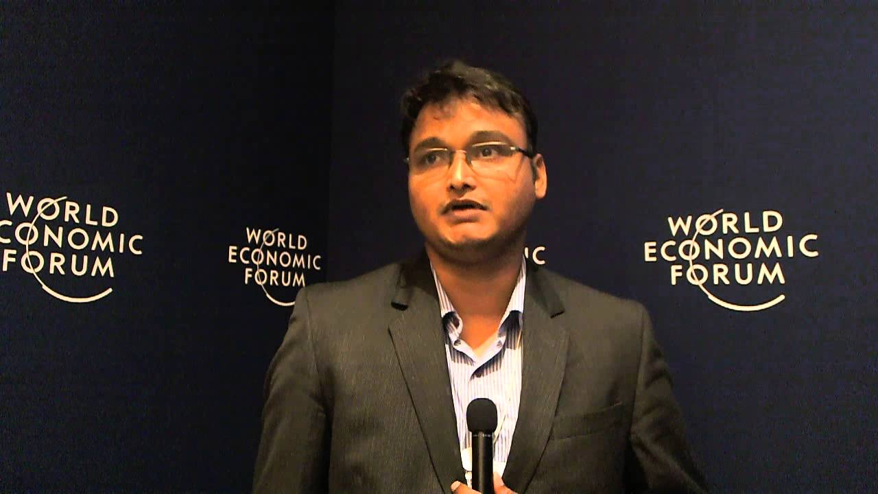 Vidyadhar Prabhudesai - World Economic Forum on India 2012 social media corner