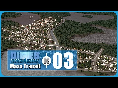 [FR] Cities Skylines Mass Transit DLC Gameplay ép 3 – Canal et ligne de ferries (let's play)