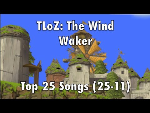 TLoZ: The Wind Waker Top 25 Songs (25-11)
