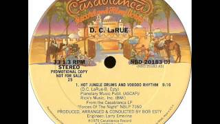 D.C.LaRue - Hot jungle drums and  voodoo rhythm