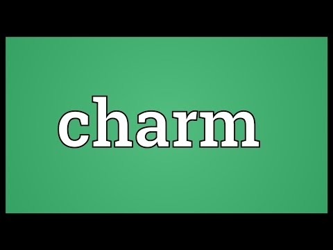 Charm Meaning