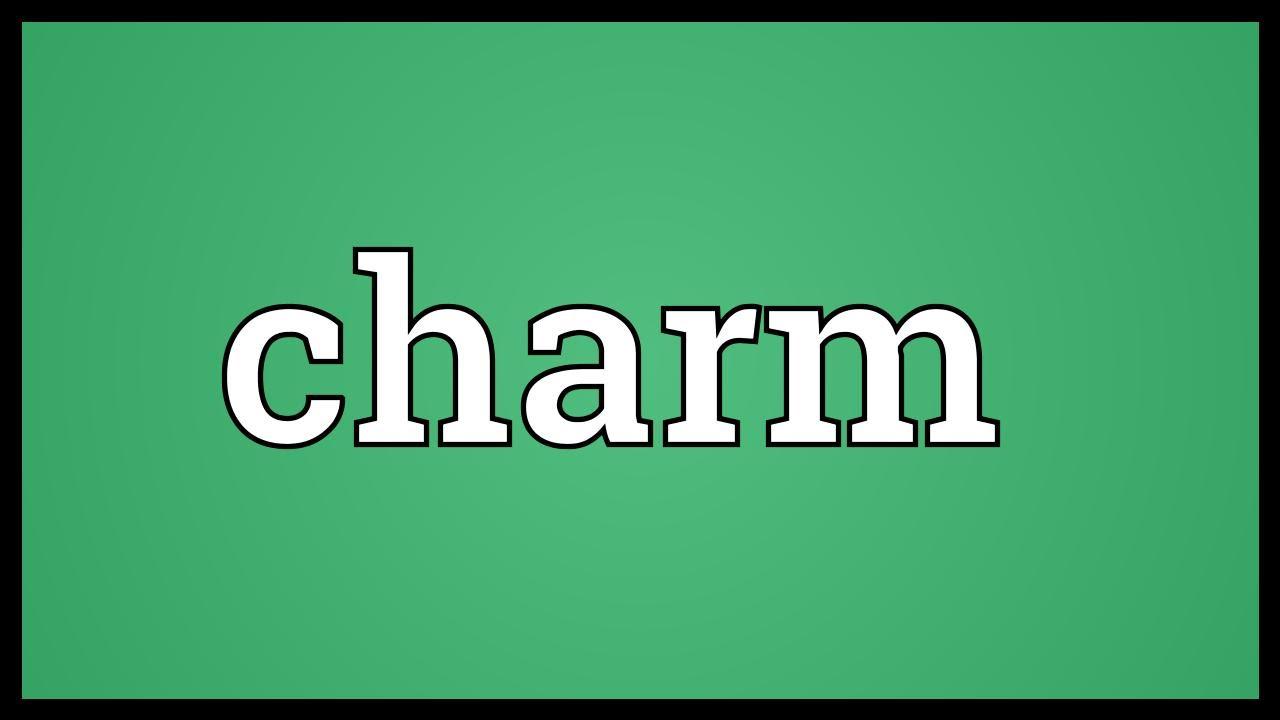 Synonym for charm