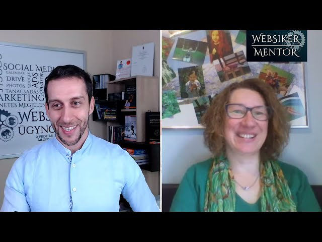 Interjú Tündével a Websiker Mentor Program VIP tanulójával