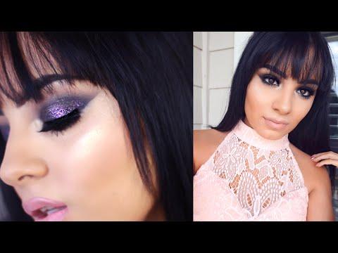 Black Smokey Eye Makeup Tutorial | Sexy Bedroom Eyes