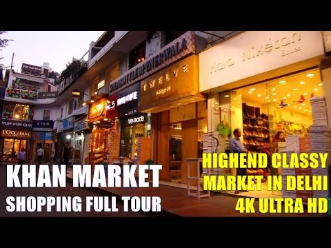 Khan Market Delhi in 4K UHD - Top Hangout Places - Incredible India