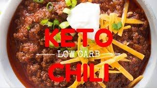 Cooking keto   easy keto chili 🌶
