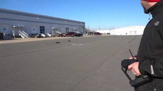 Traxxas XO-1 Running laps with HPI Sprint 2 **Clean**