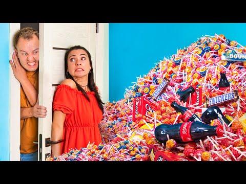 Как спрятать сладости