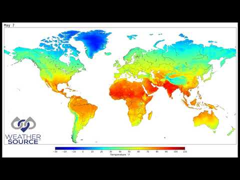Average Daily Temperature Climatology – OnPoint Weather