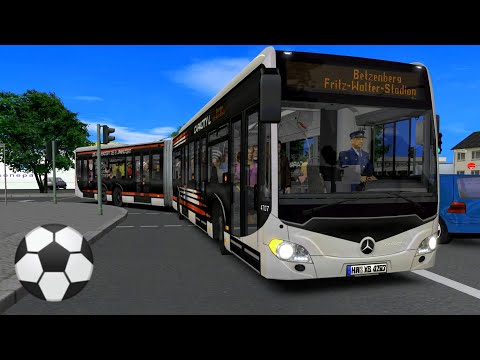 OMSI 2 Stadionshuttle → Fritz Walter Stadion (Lautern) ☆ Let's Play OMSI 2 | #739