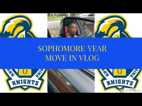 Sophomore Year College Move In Vlog l Neumann University