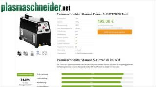 Erfahrungen: Plasmaschneider Stamos S Cutter 70 im Test