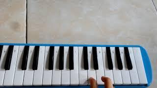 "Not pianika ""lagu Kun anta"""