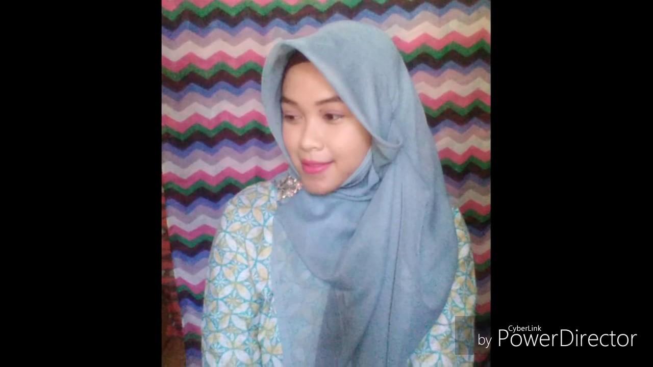 Tutorial Hijab Segi Empat Lilit Leher Tutorial Hijab Terbaru