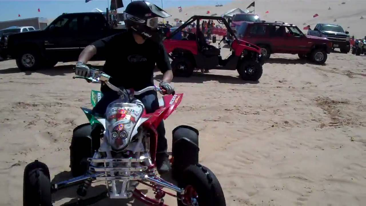 R I S  Designs: Yamaha YFZ450 `Mexico` Edition in Action @ Glamis Sand Dunes