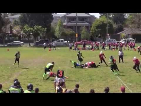 2014 Juniors Week 2 - Western Crusaders v Pakenham Silverbacks