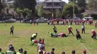 2014 Juniors Week 2 - Western Crusaders v Pakenham Silverbacks