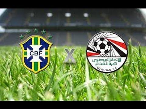 Brasil 2 x 0 Egito - amistoso internacional 14-11-2011 - Jogo Completo