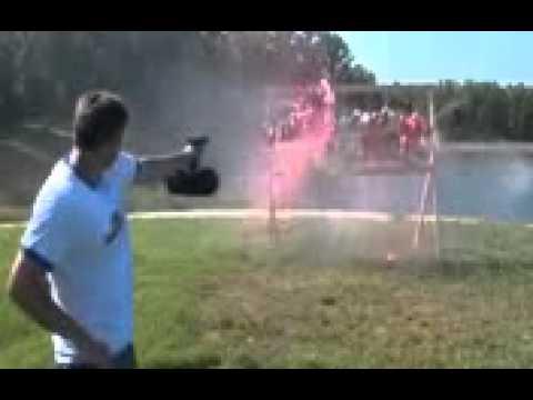Pistola Glock con tolva de caracol