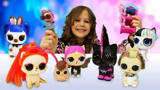 Видео с куклами LOL - Выбираем Питомца ЛОЛ! – Новые игры для девочек. Лучшие игрушки для детей.