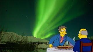 Principal Skinner serves his homemade Aurora Borealis to Superintendent Chalmers [YTP]