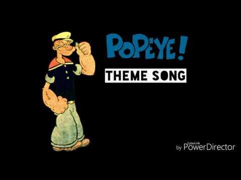 Popeye The Sailor Theme Song Lyrics