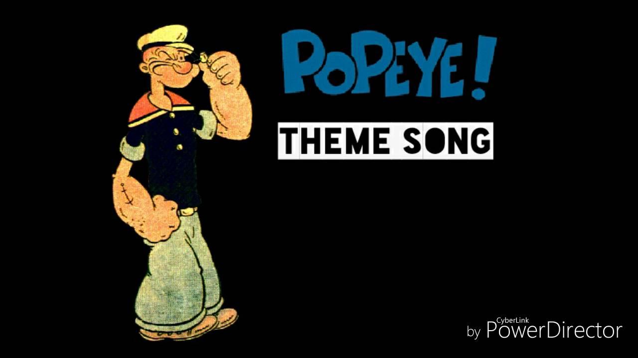 Popeye The Sailor Theme Song Lyrics Youtube