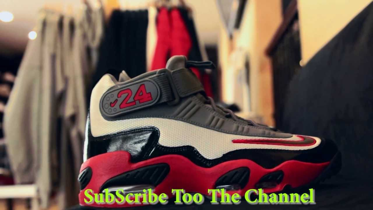 df481c5a2bce Nike Air Griffey Max 1 Pure Platinum Pimento - YouTube