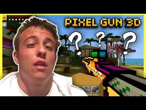 PLAYING PIXEL GUN 3D AFTER ANESTHESIA! :0