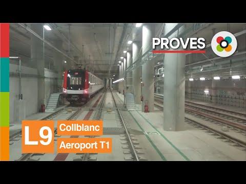L9 SUD Metro de Barcelona Collblanc-Aeroport T1