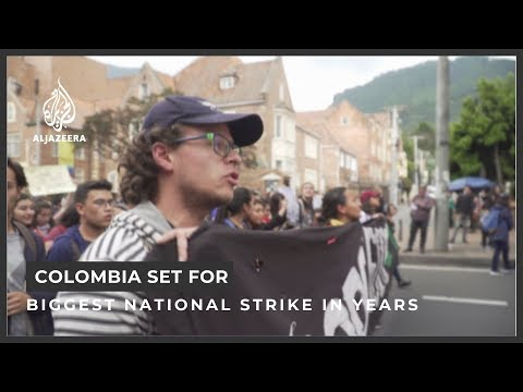 Colombia Set For Largest National Strike In Years