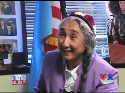 Robiya Qodir - Jahon uyg'urlari yetakchisi/Rebiya Kadeer, Uyghur leader talks to VOA Uzbek