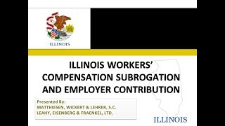 Illinois Workers' Compensation And Employer Contribution