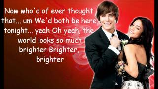 Zac Efron & Vanessa Hudgens - Start of Something New [Lyrics]