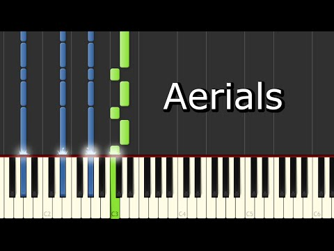 [System Of A Down - Aerials] Piano Tutorial