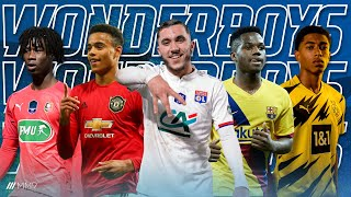 Top 10 Wonderboys in Football 2020 (U-18) | The Future of Football